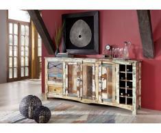 Sideboard Altholz 193x45x90 mehrfarbig lackiert NATURE OF SPIRIT #15