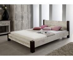 CASTLE-ANTIK Bett 160x200 #402 Akazie Mango