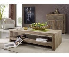 Sheesham Holz massiv Couchtisch Palisander Möbel NATURE GREY #11