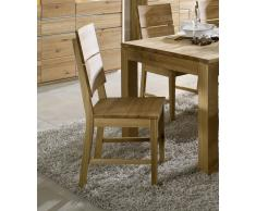 OSLO Stuhl #333 Wildeiche massiv geölt