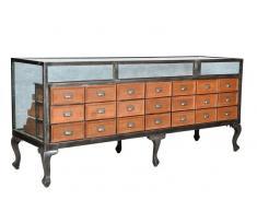 1920s ORIGINAL Sideboard #119 Altholz und Eisen