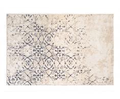 Teppich 150x80 grau/blau FRESKO