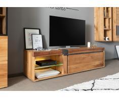 TV-Board Wildeiche / Zerreiche 180x48x50 natur geölt NEW AMSTERDAM #02