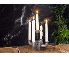 Kerzenständer Aluminium 22x22x21 DEKO #267