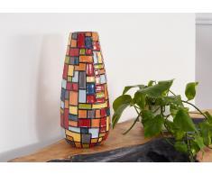 Vase Terrakotta 7x17x40 mehrfarbig DEKO #013