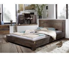 Sheesham Holz massiv Bett 180x200 Palisander Möbel METRO POLIS #137