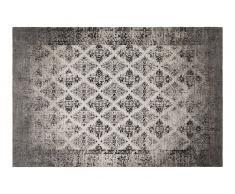 Teppich 150x80 schwarz RHOMBUS