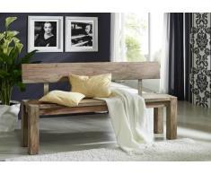 Sheesham Möbel Bank 220x35 Palisander Holz massiv NATURE GREY #704