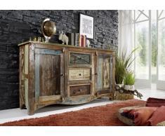 Sideboard Altholz 150x38x85 mehrfarbig lackiert NATURE OF SPIRIT #05