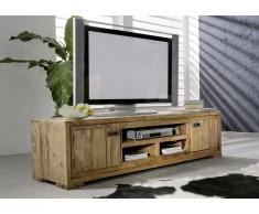 TV-Board Sheesham 180x47x40 braun geölt NATURE BROWN #856