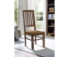Stuhl Sheesham 45x46x109 walnuss lackiert DUKE #750