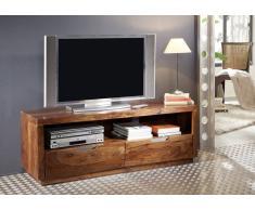 Palisander Holz massiv TV-Board Sheesham Möbel DUKE #122