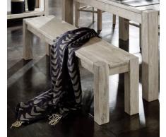 NATURE WHITE Bank #170 Akazie lackiert Möbel