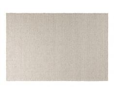 Teppich 100% Wolle 120x110 natur beige KAFET