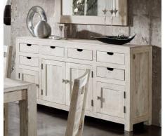 NATURE WHITE Sideboard #84 Akazie lackiert Möbel
