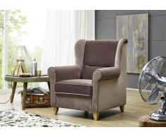 Sessel DELUXE Loungesessel braun