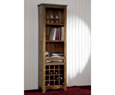 Weinregal Altholz 60x35x190 mehrfarbig lackiert NATURE OF SPIRIT #22