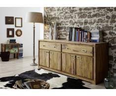 Sheesham Holz massiv Sideboard Palisander Möbel NATURE BROWN #852