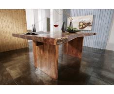 Baumtisch FREEFORM #102 190x110 Akazie lackiert
