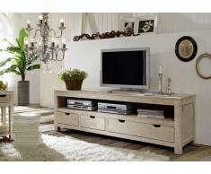 NATURE WHITE Lowboard #44 Akazie lackiert Möbel