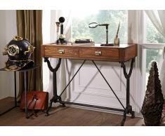 Schreibtisch Teak 101x46x86 natur lackiert 1920s ORIGINAL #114
