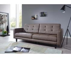 Sofa 214x88x87 graubraun TIRANA #102