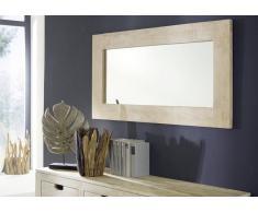 NATURE WHITE Spiegel #01 Akazie lackiert Möbel
