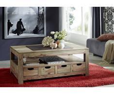 Palisander Möbel Couchtisch Sheesham Massivholz NATURE GREY #33