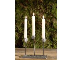 Kerzenständer Aluminium 18x9x19 DEKO #128