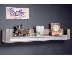 Wandboard Sheesham 120x22x20 smoked oak lackiert SYDNEY #208