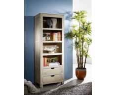 NATURE WHITE Regal #50 Akazie lackiert Möbel