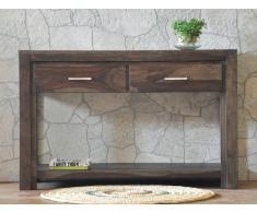Palisander Holz massiv Konsolentisch Sheesham Möbel METRO POLIS #126