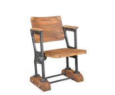 1920s ORIGINAL Sessel #102 Teak und Eisen