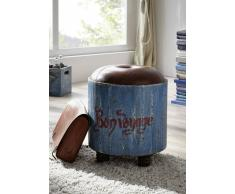 PAINTED Hocker #01 Mango Vintage lackiert
