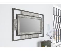 Spiegel Mango 76x4x122 grau lackiert HEAVY INDUSTRY #155