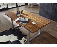 FREEFORM 2 Baumtisch #04 220x100cm Akazie massivholz