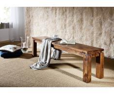 Palisander Holz massiv Bank 180x35 Sheesham Möbel METRO LIFE #162