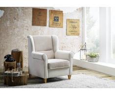 Loungesessel 82x83x99 beige DELUXE COMFORT
