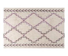 Teppich 150x80 beige/mehrfarbig KAFET