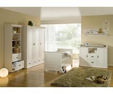 NELLY Kinderzimmer - Kiefer massiv weiß