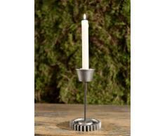 Kerzenständer Aluminium 11x11x23 DEKO #150