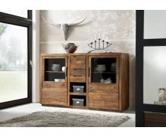 Sheesham Holz massiv Highboard Palisander Möbel DUKE #113