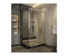Dusche Schiebetür mit Seitenwand - Range Sharp