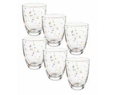 Pip Studio Royal Christmas Wasserglas-6er-Set