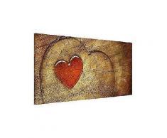 bilderwelten magnettafel quer 37cm x 78cm »natural love«