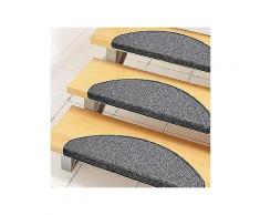 stufenmatte »bob«, andiamo, stufenförmig, höhe 45 mm, melange-effekt