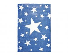 Teppich STARS Navy/Weiß, 120x180cm, Happy Rugs Livone