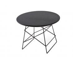 Tisch GRID, Schwarz, Ø 35cm; Höhe 25 cm, Innovation