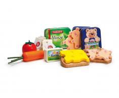Erzi® Kaufladen / Küchen Sortiment Abendbrot