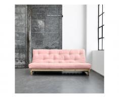 Futon Sofa Karup FRESH Gestell Natur In neuen Pastell Farben erhältlich